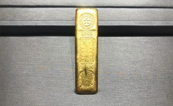 黃金回收實例-五兩賓士金條回收