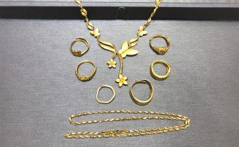 黃金回收實例-黃金套鍊、黃金項鍊、黃金戒指回收