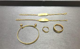 黃金回收實例-黃金手環、戒指、手鏈回收