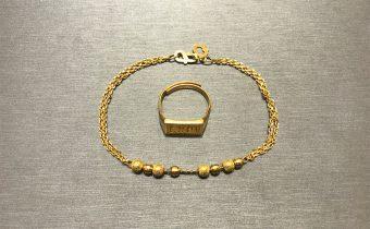 黃金回收實例-黃金手鍊、黃金戒指回收