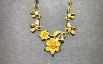 黃金回收實例-女生黃金項鏈回收