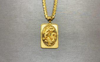 黃金回收實例-黃金項鏈、黃金墜子回收