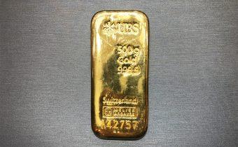 黃金回收實例-瑞士金條回收(500克)