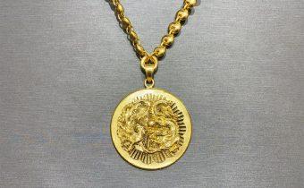 黃金回收實例-黃金項鏈、黃金墜回收