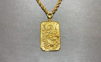 黃金回收實例-黃金項鍊、黃金墜子回收