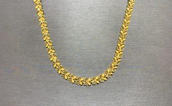 黃金回收實例-黃金項鍊回收